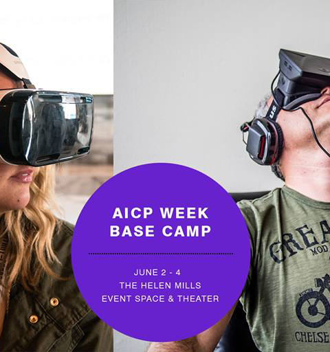 <strong>AICP</strong><BR />Mirada Will Be at AICP Week Base Camp in NYC on June 3rd for the Virtual Reality Experience