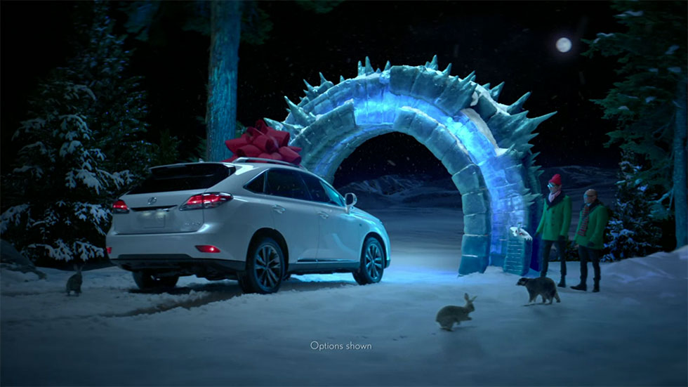 <strong>Lexus</strong>Crafting a Holiday Trilogy of Tall Tales
